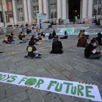 Sciopero globale per il clima, Fridays for future in presidio a Matteotti