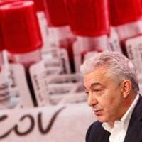 """Covid: infettivologo Bassetti difende  Arcuri: """"Paga da parafulmine colpe non sue"""""""