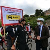 Il ciclista Trentin testimonial di strade sicure per i bambini che vanno