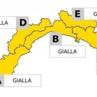 Piogge e temporali, allerta gialla martedì in tutta la Liguria dalle 6