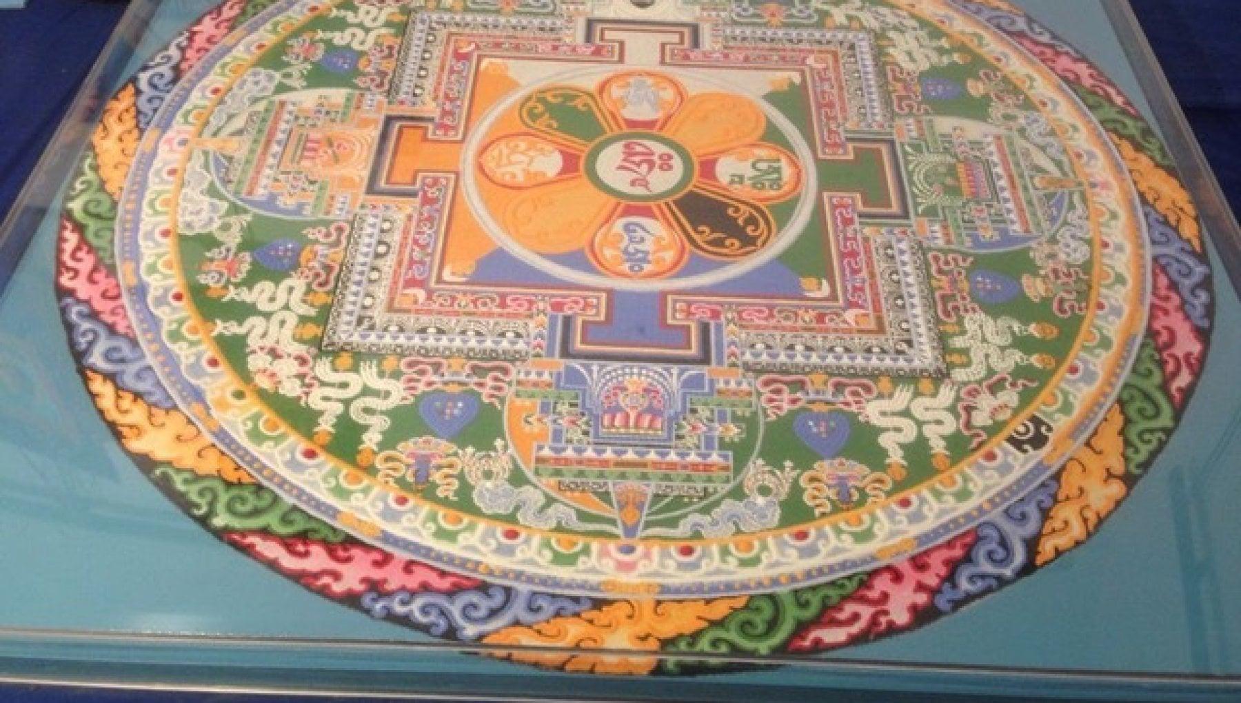 """121921850 b13c73a7 b405 4cfb 9aec 44bd911af1b2 - La battaglia del mandala del Dalai Lama, Livia Pomodoro: """"Non distruggetelo"""""""