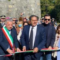 La Spezia, rinasce il parco delle Mura. Toti: