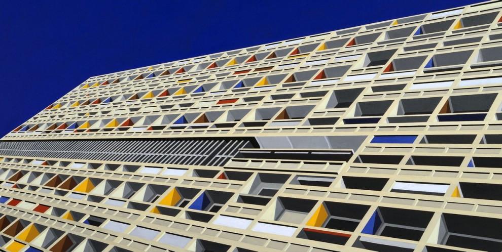 Colori e geometrie l 39 atlante urbano di marco petrus 1 for Viale alemagna 6 milano