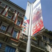 Milano, imbrattata la bandiera di Israele per Expo