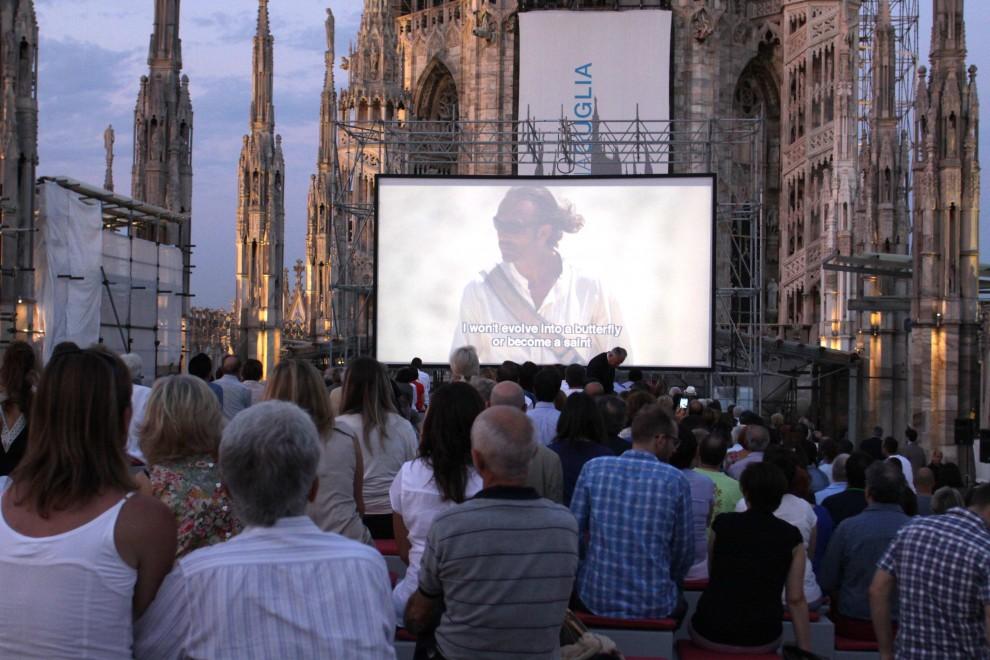 Film con vista guglie: al cinema sul tetto del Duomo