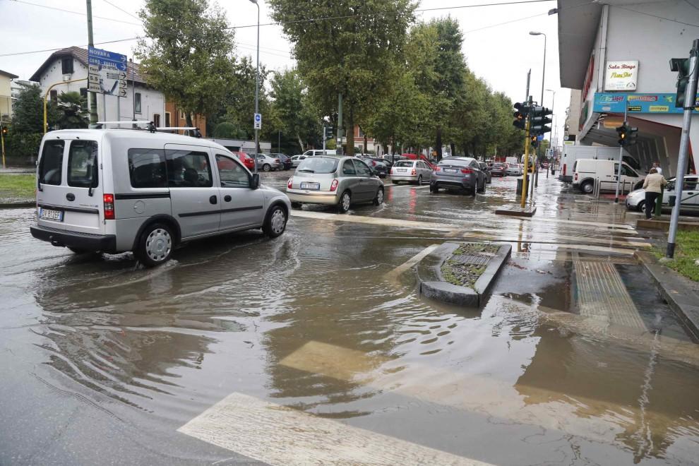 Milano, la nuova esondazione del Seveso a Niguarda