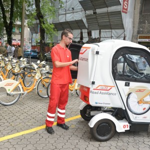 Milano apre la stazione numero 200 del bike sharing e in for Mobile milano bike sharing