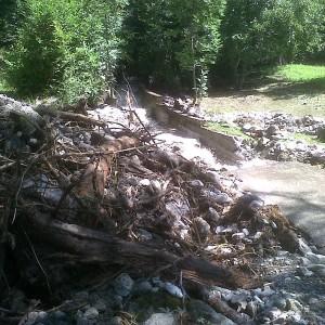 Maltempo in Lombardia, esonda il torrente Re: cento sfollati in Val Camonica