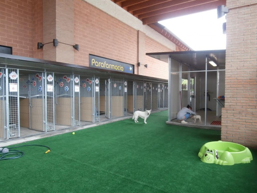 39 mifido 39 a brescia il dog parking nel centro commerciale for Centro commerciale brescia