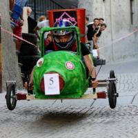 I 'carretti pazzi' di Sondrio, una sfida a tutta velocità