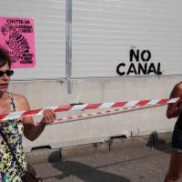 Expo 2015, la protesta dei No Canal nei parchi di Milano