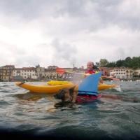 Mayo, la traversata del lago Maggiore a quattro zampe