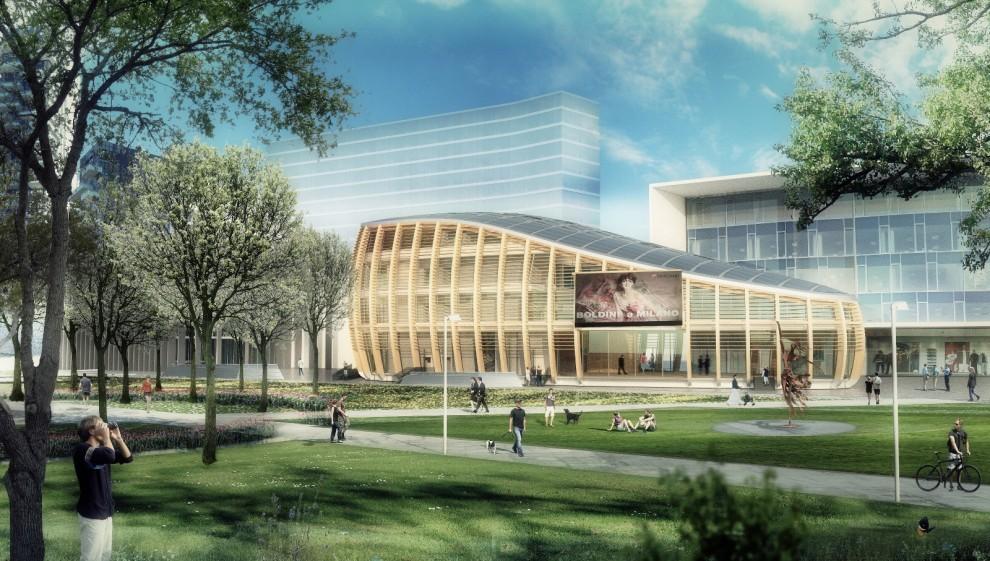 Pavilion, a Milano la casa per gli eventi fra i grattacieli