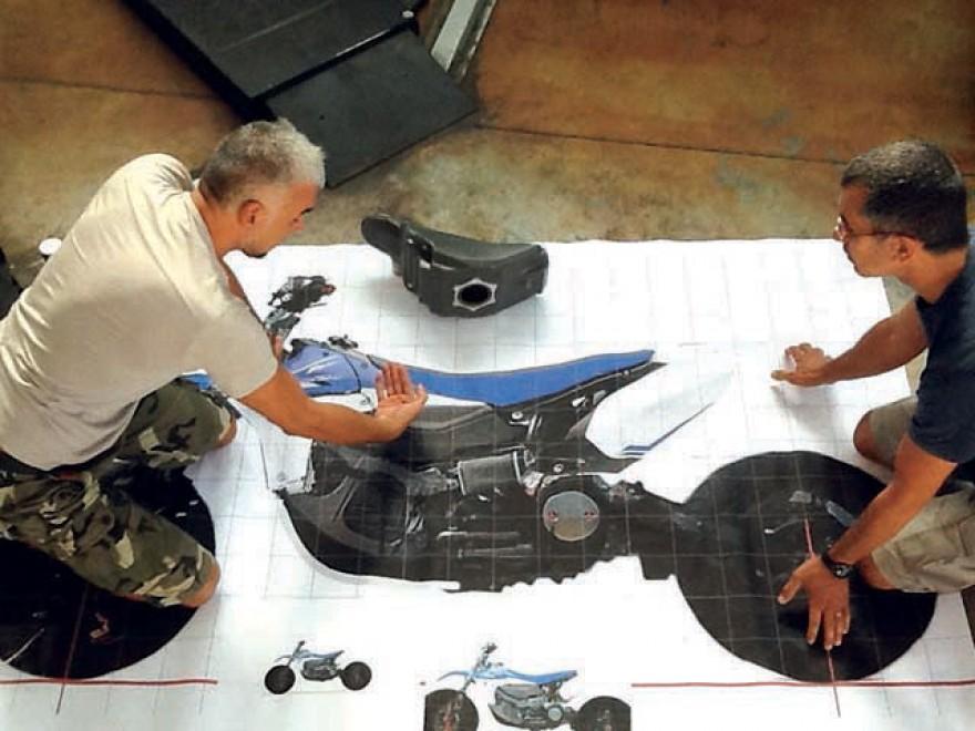 Rodolfo, il designer che inventa le moto più belle