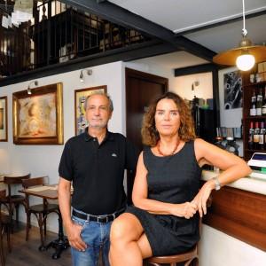 La second life di Pervinca e Michele: dopo la scuola, una trattoria per gli ex presidi