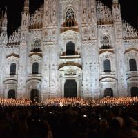 Milano, il maxi concerto gospel sul sagrato del Duomo