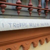 'Sei troppo bella, ti vandalizzo': strana teoria del writer