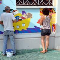 Museo del Fumetto, Carrasco e il murale anti-vandalo