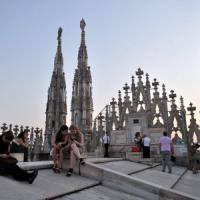 Milano, un montacarichi nuovo per portare i turisti di Expo a visitare il
