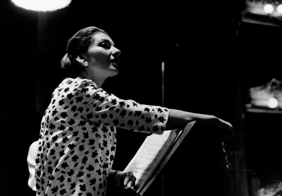 Le foto raccontano l'altra Callas, una diva fuori scena