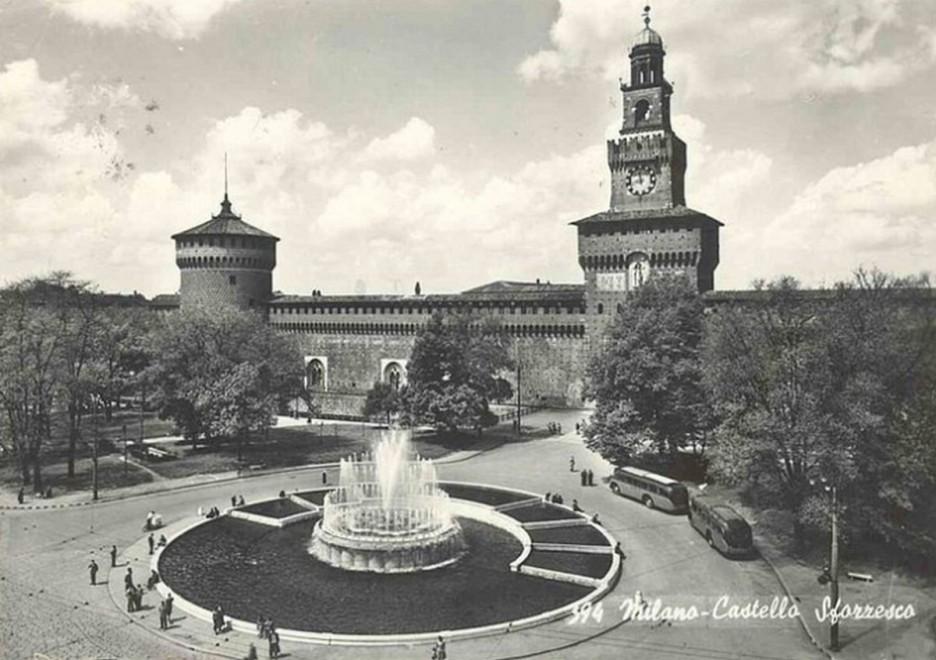 Foto d epoca milano