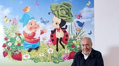 Foto  Milano, un artista per ogni muro  alla casa pediatrica del Fatebenefratelli
