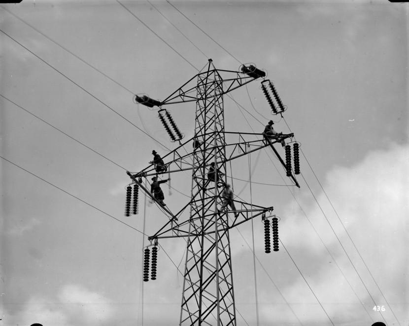 39 l 39 energia al lavoro 39 gli operai della luce a milano 1 for Lavoro a milano
