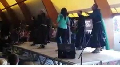 Video  I balli di gruppo nel Comasco la coreografia dei frati è trascinante