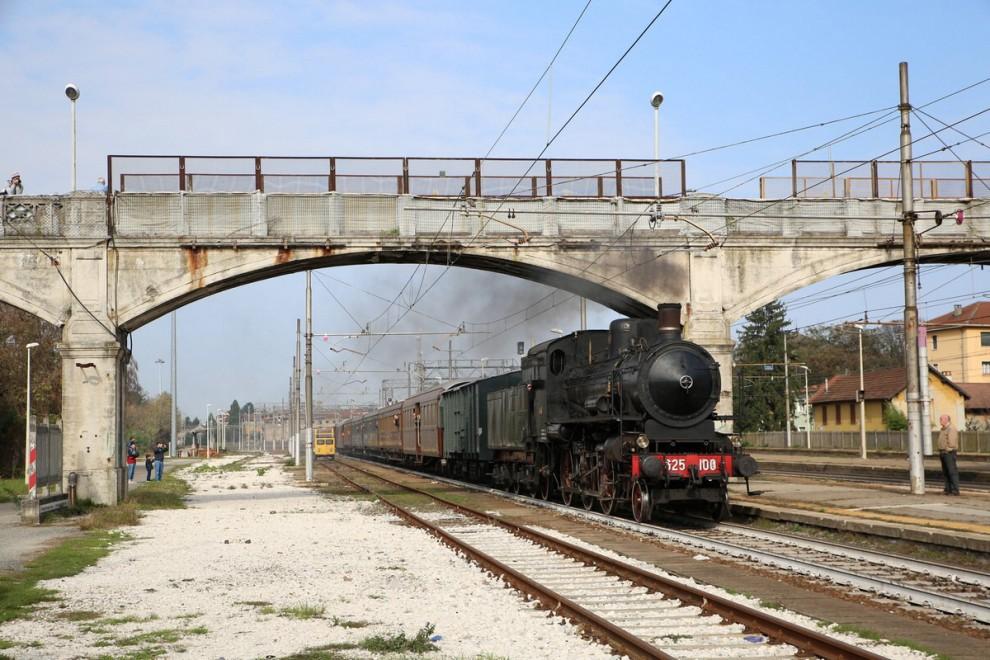 Pavia il viaggio amarcord sul treno a vapore del 1913 1 - Pavia porta garibaldi ...
