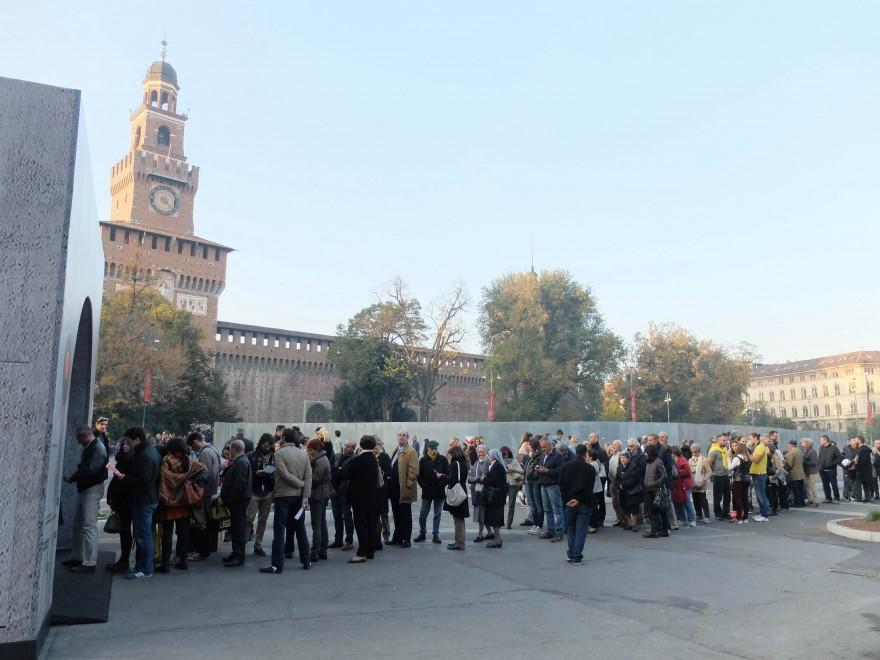 Milano, 4mila all'Expo Gate per il tunnel dedicato alla M1