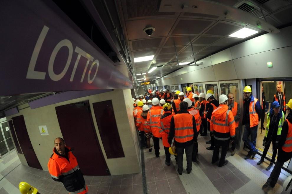 Milano, ecco la nuova stazione della M5 a Lotto