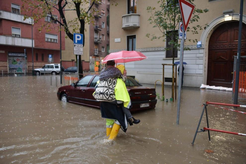 Seveso e Lambro ancora fuori: nuova allerta a Milano
