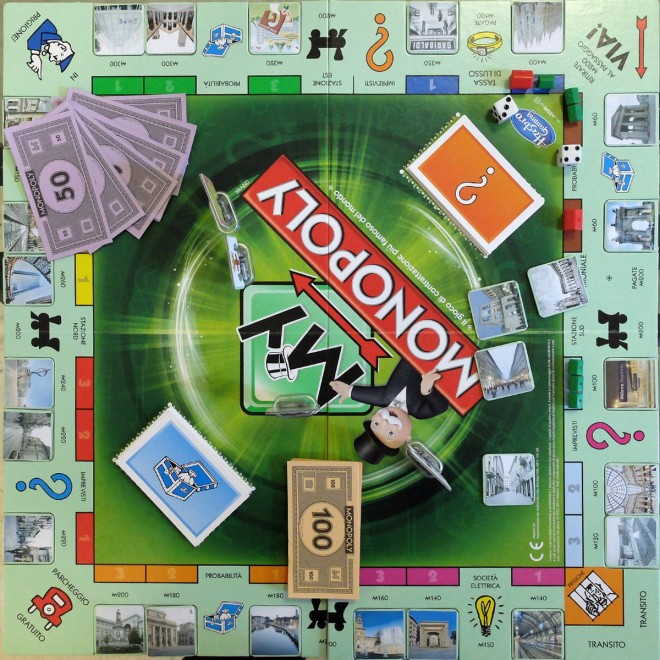 Ecco Il Monopoly Con ecco il monopoly con cadorna ed expo gate 1 di 1 c498d39a3f04
