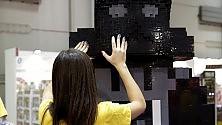 Star Wars, la maxi statua di Darth Vader con i Lego