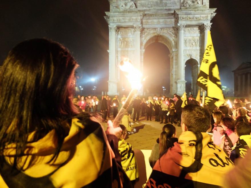 Milano, la fiaccolata per ricordare Lea Garofalo