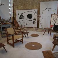 Mantova, ricreato lo studio in cui lavorava Mirò