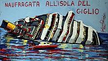 Da Ustica alla Concordia   la cronaca è in un quadro