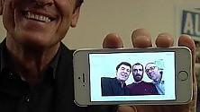 """Tutti in posa con Morandi """"E non chiamateli selfie"""""""
