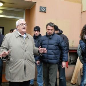 """Milano, Borghezio alle case Aler: """"Non mi aspettavo stranieri così sensati"""""""