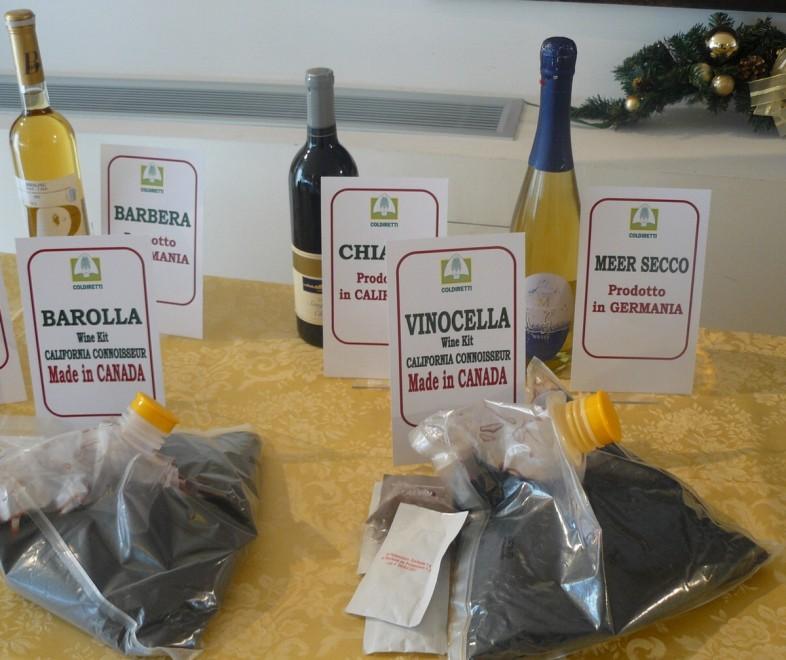 Brescia, le etichette con il trucco dei 'finti' vini italiani