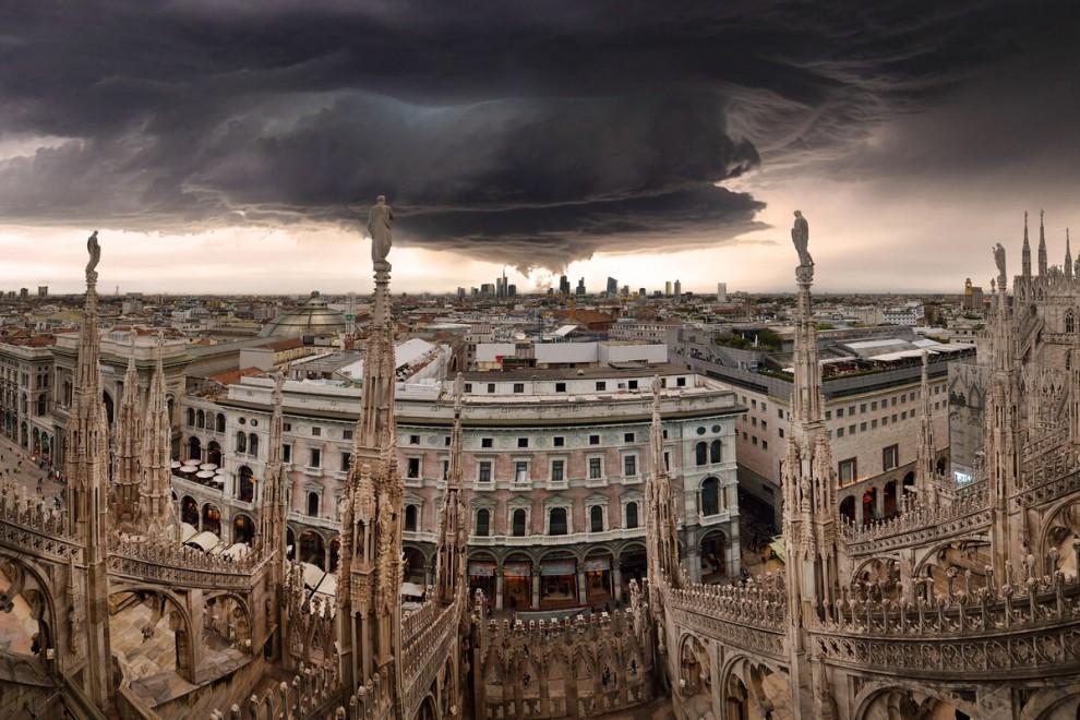 'Milano vola alto', gli scatti raccontano la città che sale