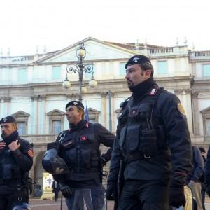 Milano si blinda per la prima del Fidelio alla Scala: rischio incidenti, 750 agenti in campo