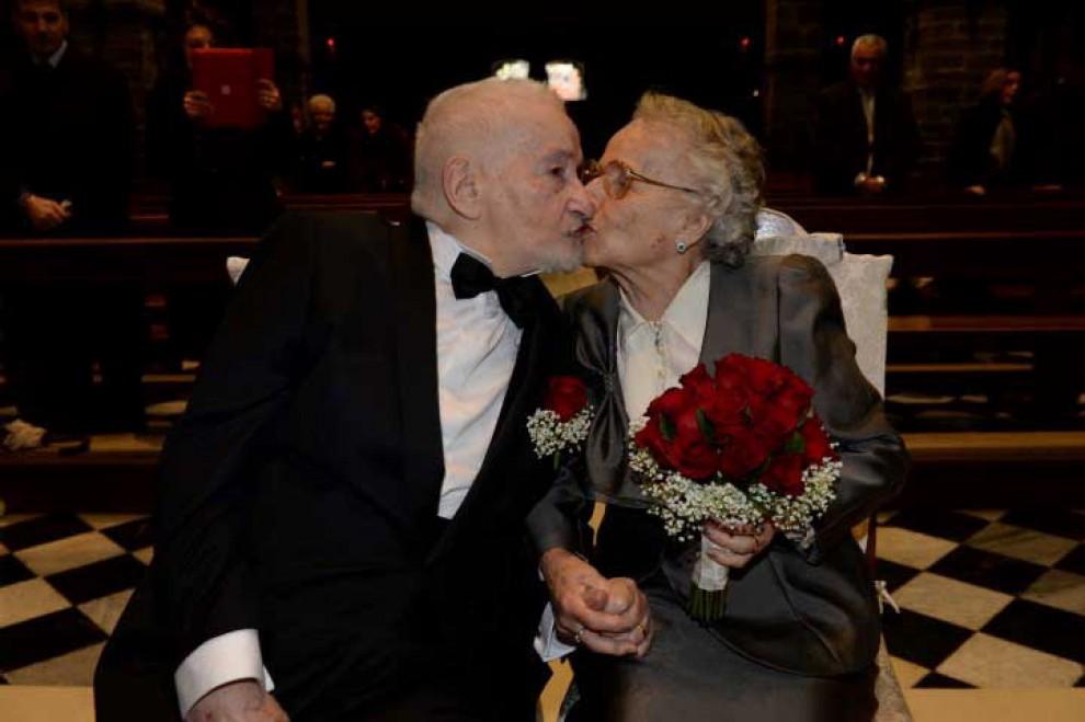 Lecco, sposi dopo settant'anni grazie a Facebook