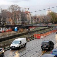 Milano, nuovo ponte pedonale tra Ripa Ticinese e Alzaia
