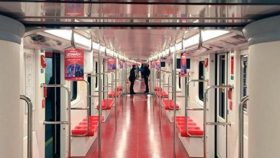 Milano nel metr il nuovo treno hi tech pisapia nessun for High tech milano