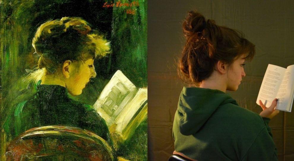 Bergamo, le liceali fanno rivivere i quadri con le