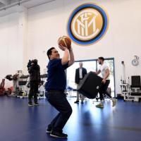 Inter, Thohir va ad Appiano Gentile ma gioca a basket