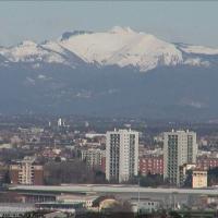 Le montagne viste da Milano: gli scatti delle webcam