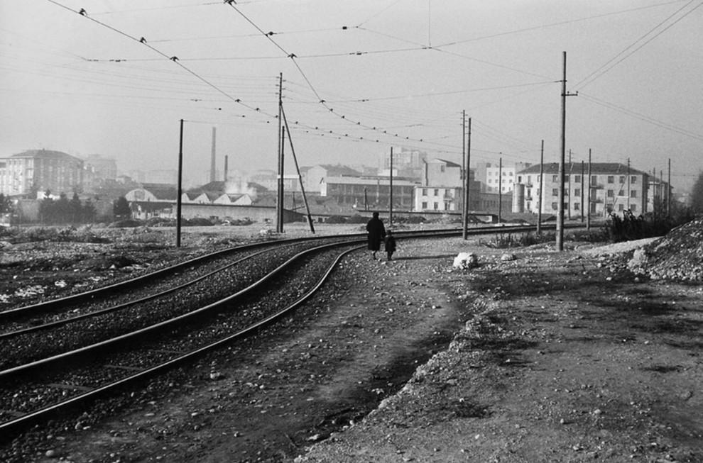 Milano com'era: le 'Metamorfosi' in bianco e nero