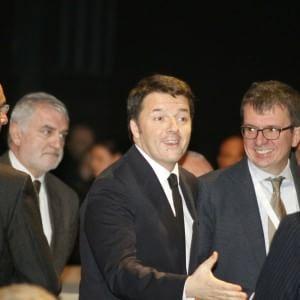 """Renzi a Milano: """"L'Expo non è più uno scandalo, ma il simbolo delle ambizioni italiane"""""""